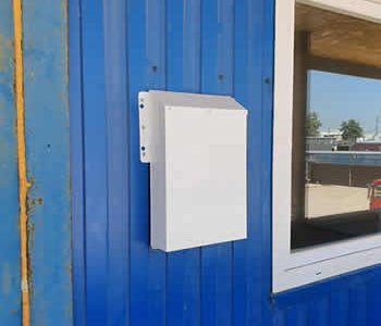 Приточная вентиляция жилого контейнера